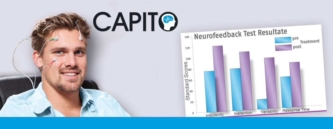 CAPITO - Test für Neurofeedback, Biofeedback, Coaching, Hirnleistungstraining